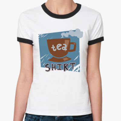 Женская футболка Ringer-T  Tea-shirt