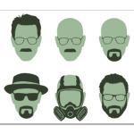 Breaking Bad - Walter Faces