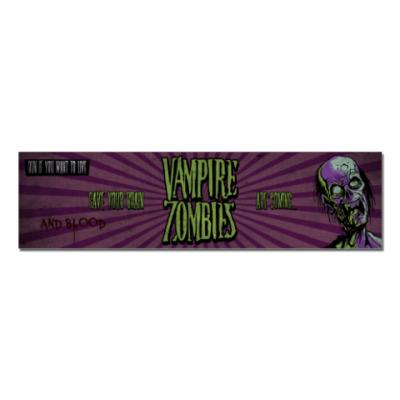 Наклейка (стикер) Vampire-Zombies