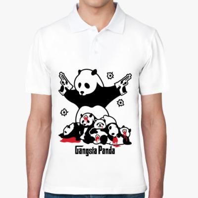 Рубашка поло  Gangsta panda