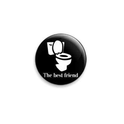 Значок 25мм лучший друг