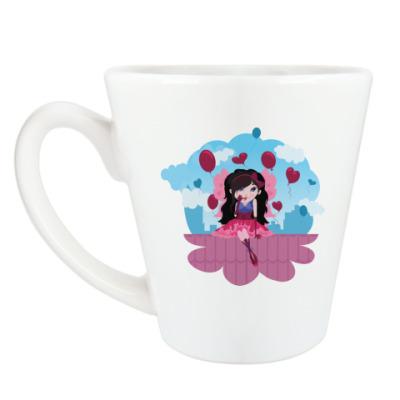 Чашка Латте Феечка