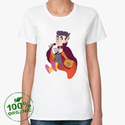 Женская футболка из органик-хлопка Вампир