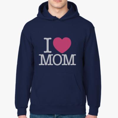 Толстовка худи i love mom