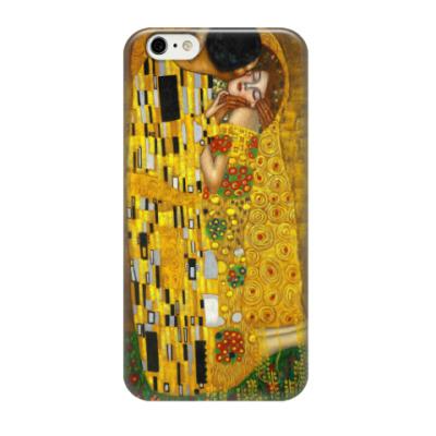 Чехол для iPhone 6/6s Климт. Поцелуй