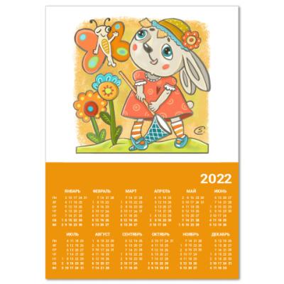 Календарь Зайка