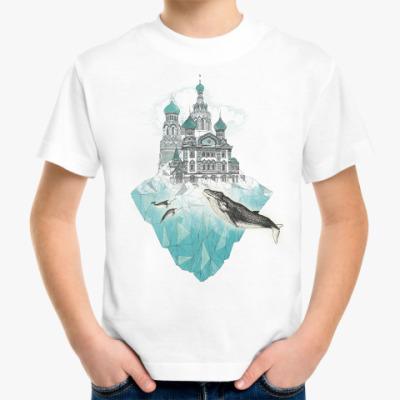 Детская футболка Зимний Санкт-Петербург