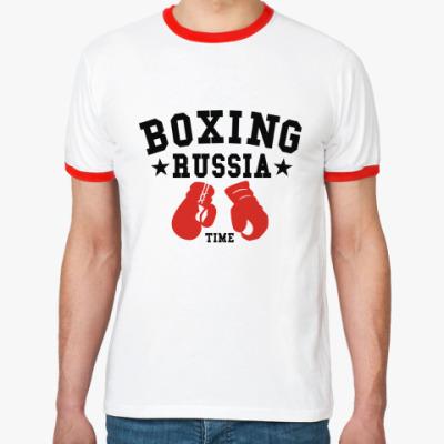 Футболка Ringer-T Boxing Russia