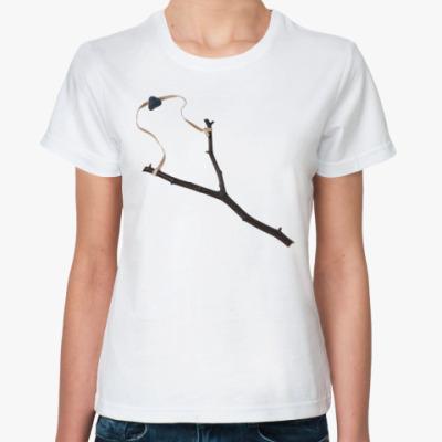Классическая футболка Хулиган