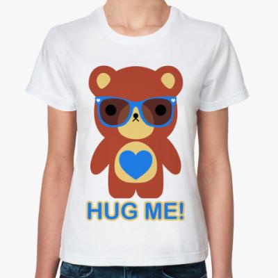 Классическая футболка  Мишка мальчик