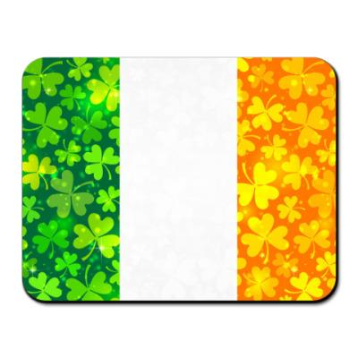 Коврик для мыши  Ирландский флаг