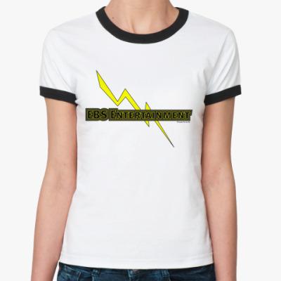 Женская футболка Ringer-T EBS Entertaimment