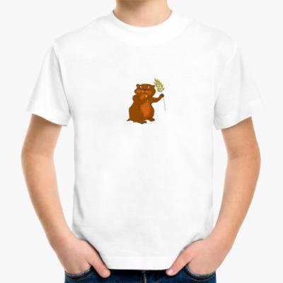 Детская футболка хомяк
