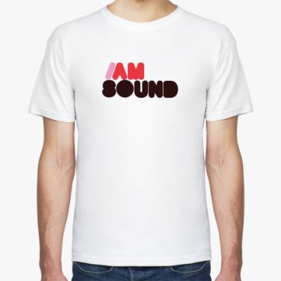 Футболка I am sound