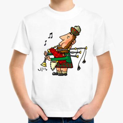 Детская футболка Волынщик