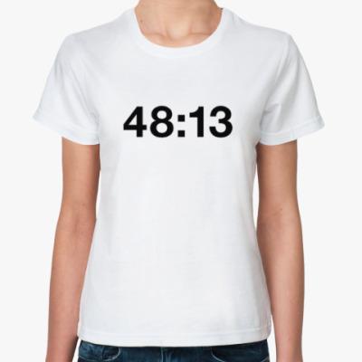 Классическая футболка kasabian 48:13