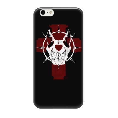 Чехол для iPhone 6/6s Dog skull