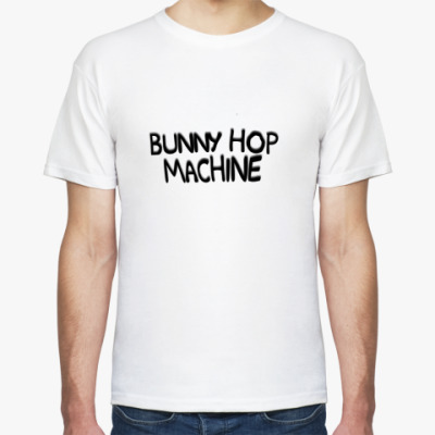 Футболка Bunny hop machine