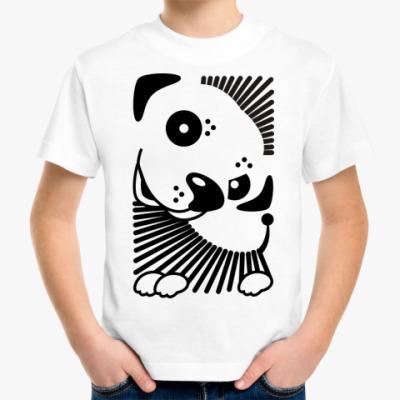 Детская футболка  Собачка