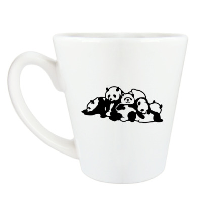 Чашка Латте Панды