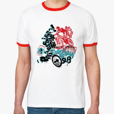 Футболка Ringer-T Bikers