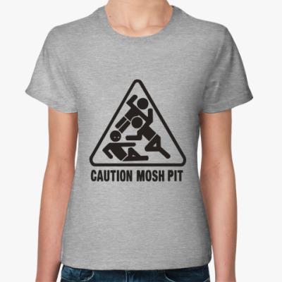 Женская футболка Moshpit