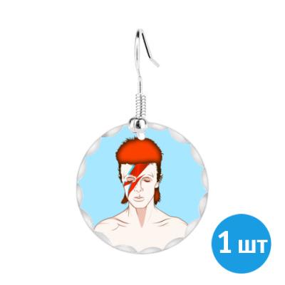 Серьги David Bowie