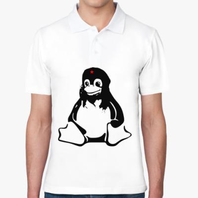 Рубашка поло Linux Che Guevara