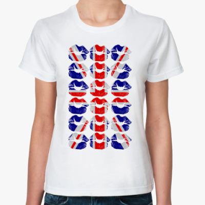 Классическая футболка London KISS