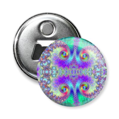 Магнит-открывашка Спирали