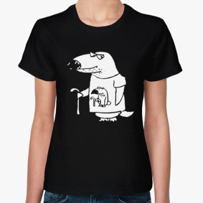 Женская футболка Хаус