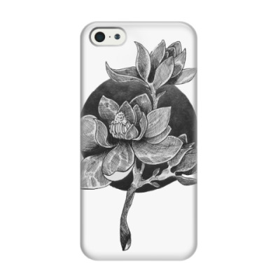 Чехол для iPhone 5/5s Магнолия