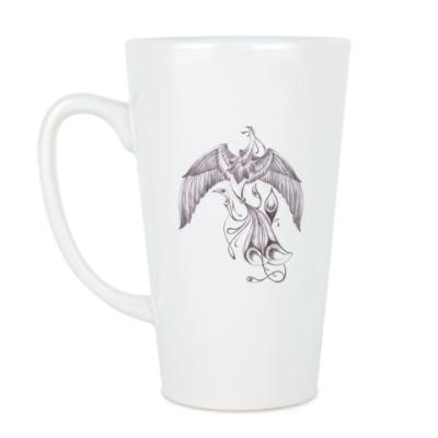 Чашка Латте Феникс