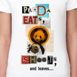 Panda eats, shoots & leaves