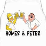 Homer & Peter