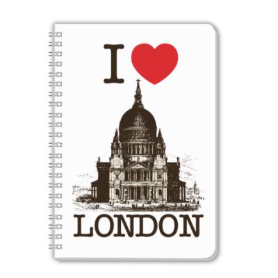 Тетрадь I love London