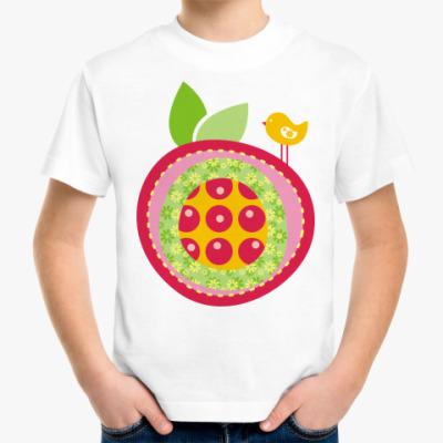Детская футболка Веселое яблочко