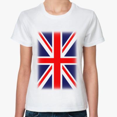 Классическая футболка Великобритания