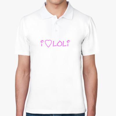 Рубашка поло Люблю лоли