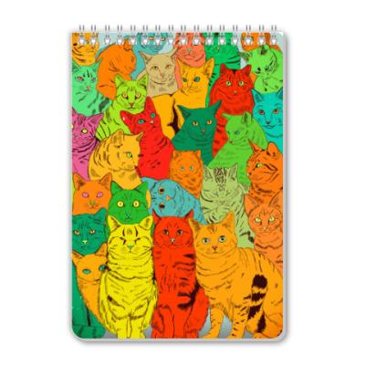 Блокнот Cats