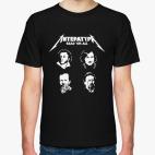 Классическая футболка ЛитературА