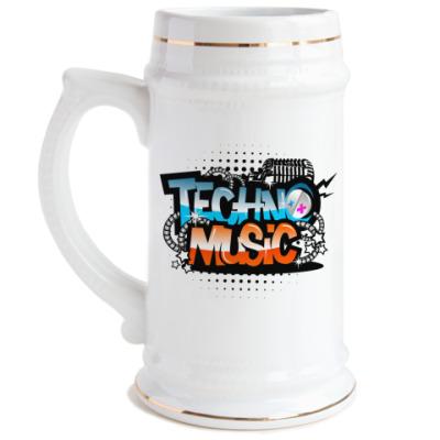 Пивная кружка Techno