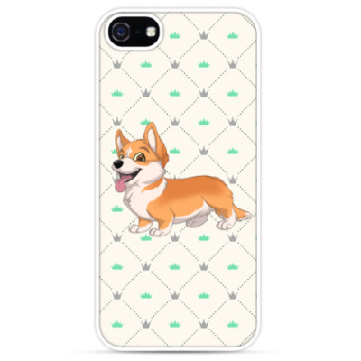 Чехол для iPhone corgi love