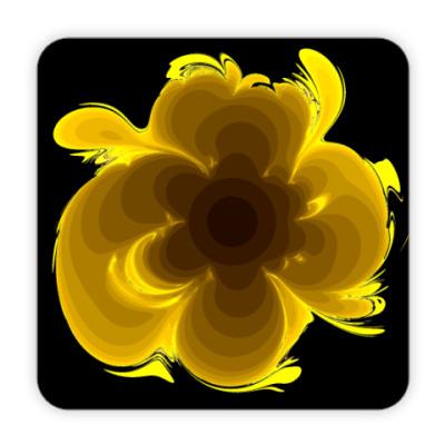 Костер (подставка под кружку) цветок
