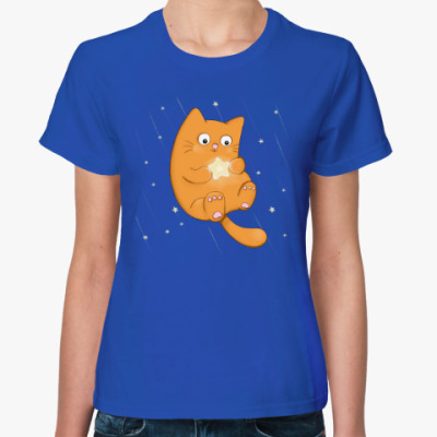 Женская футболка Загадай желание