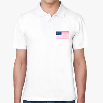 Рубашка поло США