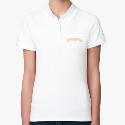 Женская рубашка поло Rammstein