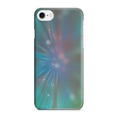 Чехол для iPhone 7/8 звездный взрыв, абстракция