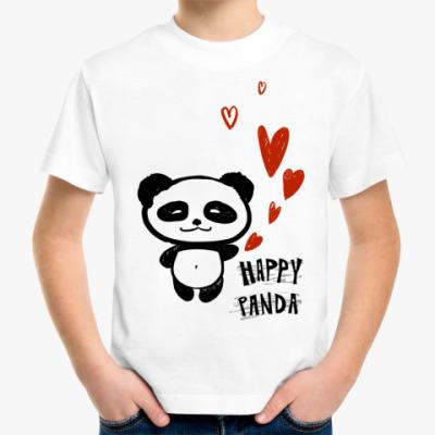 Детская футболка Happy Panda