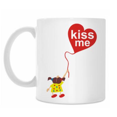 Кружка Kiss me